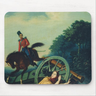 Scene from the 1812 Franco-Russian War, 1830s Mouse Pad