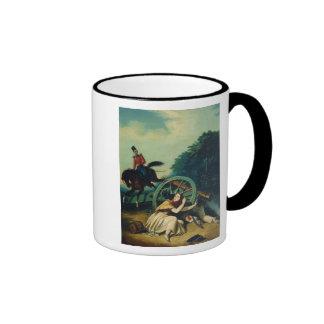 Scene from the 1812 Franco-Russian War, 1830s Coffee Mugs