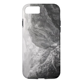 Scene from the Inn at Devil's Bridge with the Fall iPhone 7 Case