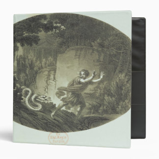 Scene from 'The Magic Flute' by Mozart Vinyl Binder