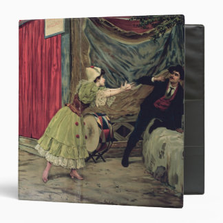 Scene from the opera 'Pagliacci' Vinyl Binder