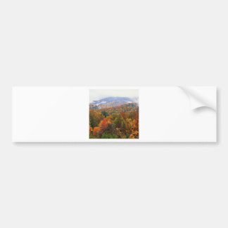 Scene Lush Landscape Appalachian Carolina Bumper Sticker