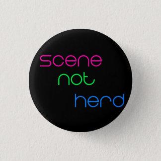 Scene Not Herd 1 Inch Round Button