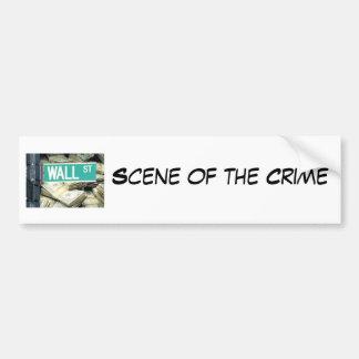 Scene of the Crime Bumper Stickers