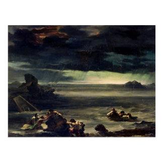 Scene of the Deluge, 1818-20 Postcard