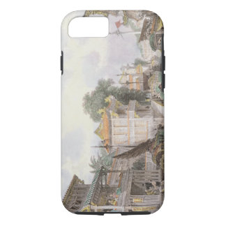 Scene on the Horan Canal near Canton, c.1850 (colo iPhone 7 Case