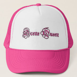 Scene Queen Crown Trucker Hat