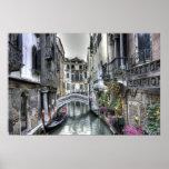 Scène urbaine en affiche de Venise