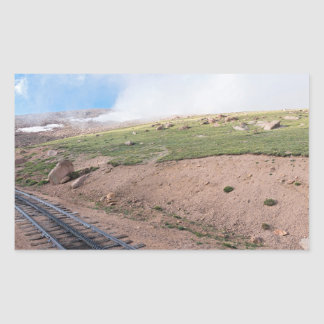 Scenery Along Historic Cog Railway Sticker