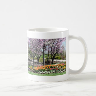 scenery,flowery springtime scenery coffee mug