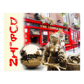 Scènes de Dublin Irlande