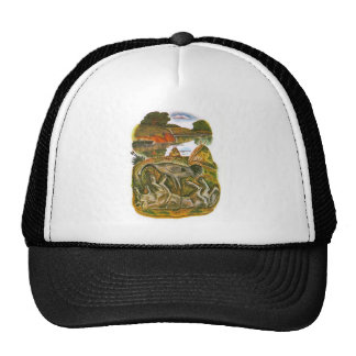 Scenes from Aesop's fables Trucker Hat