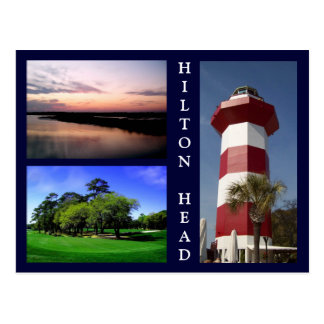 Scenes from Hilton Head Postcard