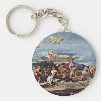 Scenes From Mythology: Vertumnus And Pomona By Gio Keychain