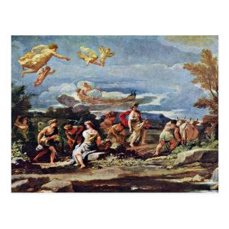 Scenes From Mythology: Vertumnus And Pomona By Gio Postcard