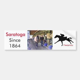 Scenes from Saratoga Bumper Sticker