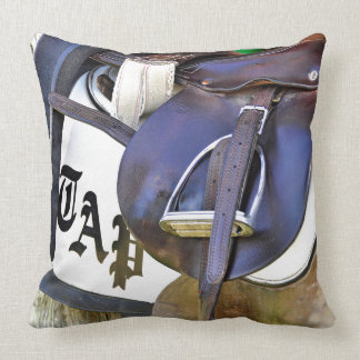 Scenes from Saratoga Throw Pillow