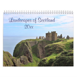 Scenes from Scotland: Land, Loch and Sea - Current Wall Calendars