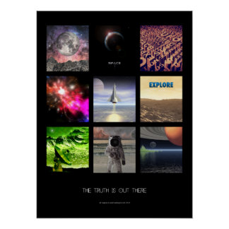 Scenes From Space Perfect Poster