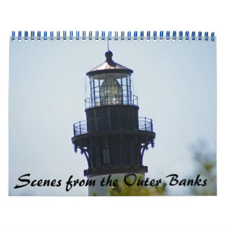Scenes from the Outer Banks Calendar