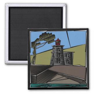 Scenes Lighthouse Magnet