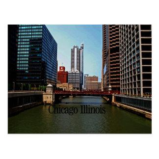 Scenes of Chicago Illinois Postcard