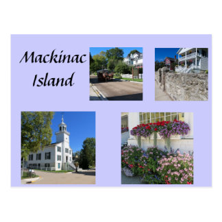 Scenes of Mackinac Postcard
