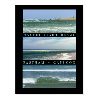 Scenes of Nauset Light Beach Postcard