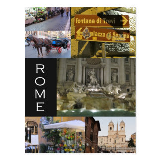 Scenes of Rome Postcards