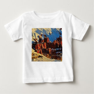 scenes of the snowy red rock baby T-Shirt