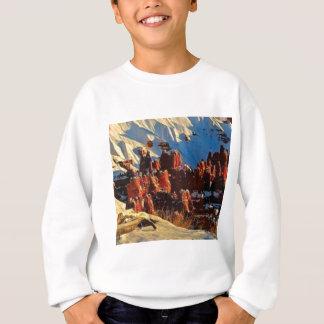 scenes of the snowy red rock sweatshirt
