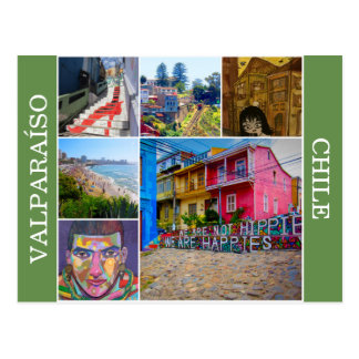 scenes valparaíso postcard