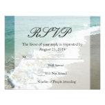 Scenic Beach Destination Wedding Personalized Announcement
