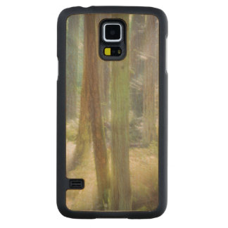 Scenic Beach State Park Maple Galaxy S5 Slim Case