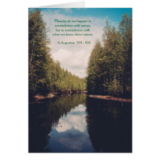 Scenic Beauty & Nature Heartfelt Greeting Card