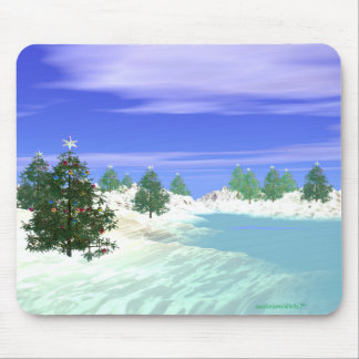 Scenic Christmas Mouse Pad