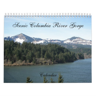 Scenic Columbia River Gorge Photo Calendar