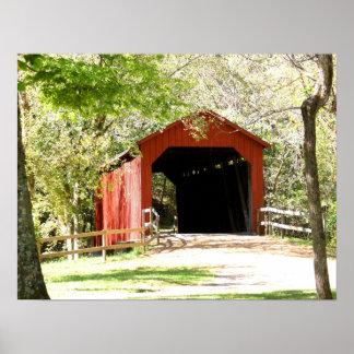 Scenic Covered Bridge Poster