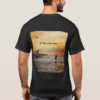 """Scenic """"Go Your Own Way"""" Tee 🐠🏄🏼"""