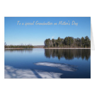 Scenic Grandmother Mother's Day Greeting Card