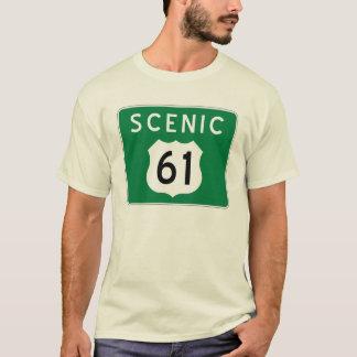 Scenic Highway 61 t-shirt