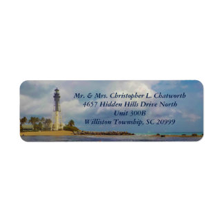 Scenic Hillsboro Inlet Light Personalized