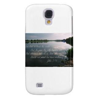 Scenic Image w/John 3:16 Galaxy S4 Cover
