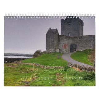 Scenic Ireland Scotland 2017Calendar Calendar