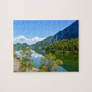 Scenic Lake Jigsaw Puzzle