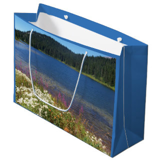 Scenic Lake Photo Large Gift Bag