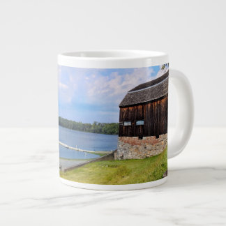 Scenic Landscape and Water - Wethersfield Cove, CT Large Coffee Mug