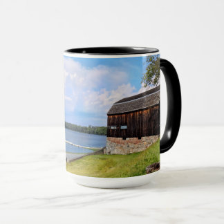 Scenic Landscape and Water. Wethersfield Cove, CT Mug