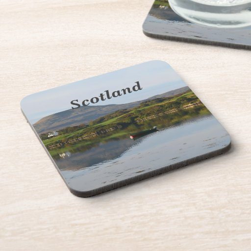 Scenic MacLeod's Tables Beverage Coaster