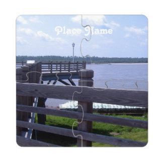 Scenic Missouri Drink Coaster Puzzle